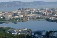 Výhled na norský Bergen
