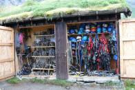 Vybavení potřebné k výstupu na ledovec Jostedalsbreen