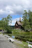 znovu sloupový kostel neboli Garmokirken