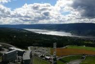 krásný výhled na Lillehammer