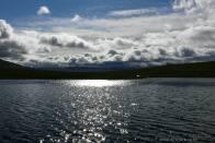 překrásné jezero v Rondane