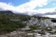 v národním parku je hodně skalnatých míst