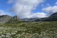 krásná příroda v národním parku Rondane