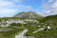 v Rondane jsou velice úzké cesty