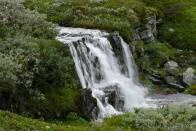 v Rondane je několik odstínů zelené barvy
